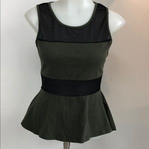 2b Bebe peplum top
